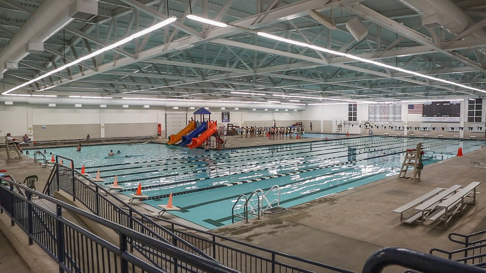 Aquatics mandan parks and recreation for Citywide aquatics division swimming pool slide