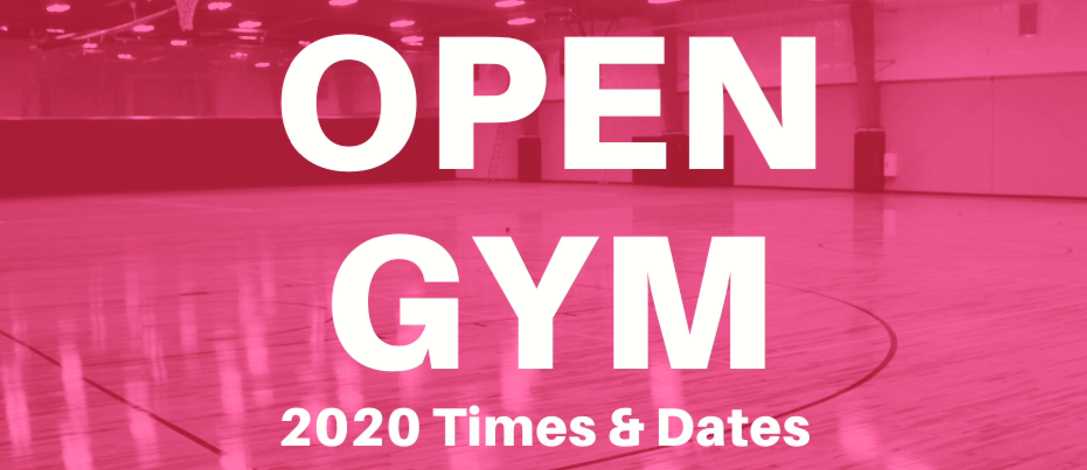 Open Gym 1920